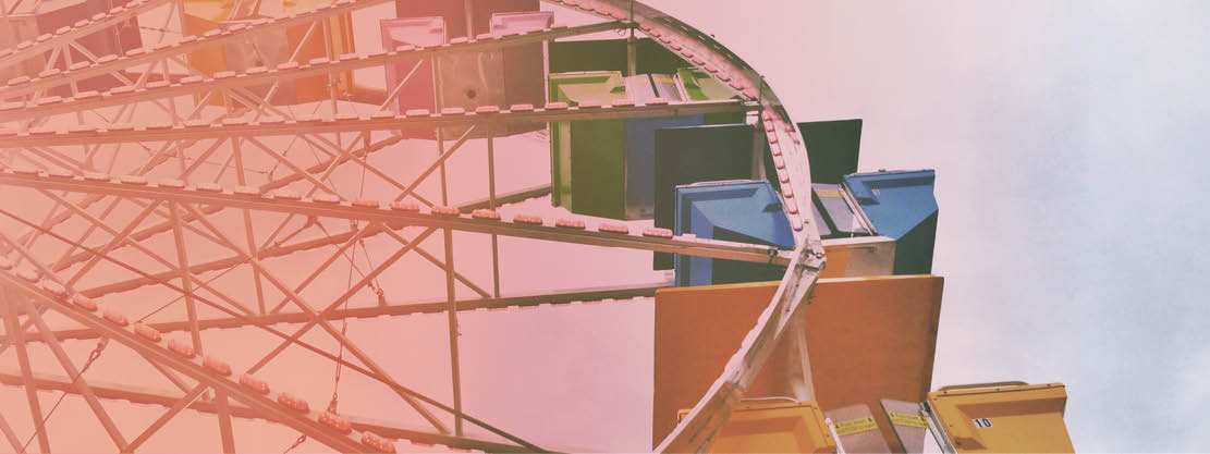 carnival ferris wheel at Boulder Creek Festival