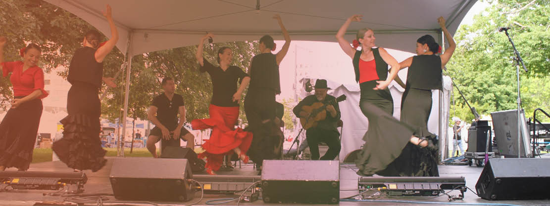 dance performance at Boulder Creek Festival
