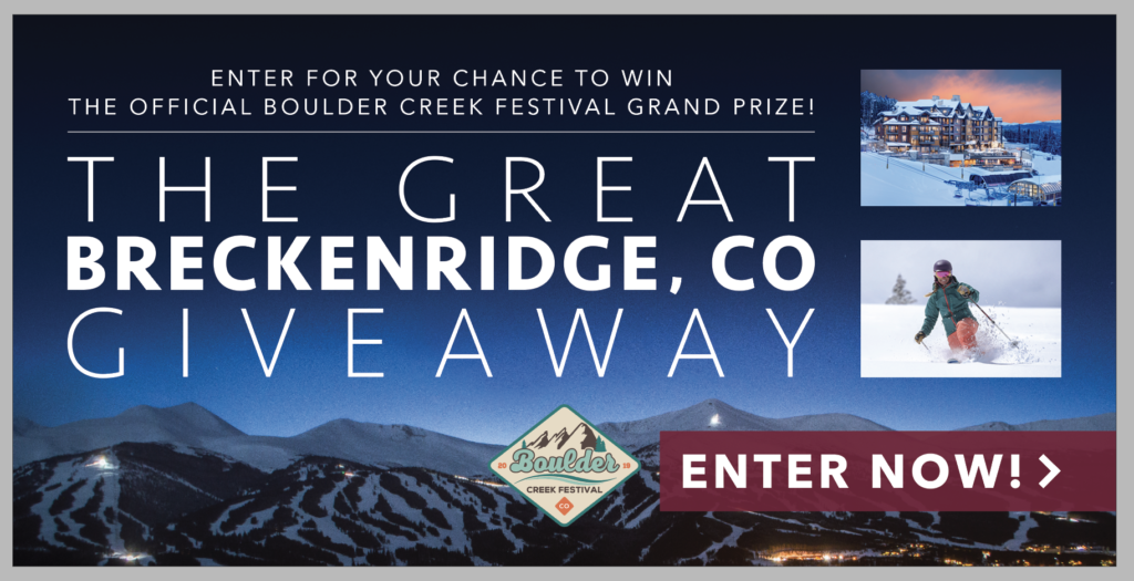 Enter To Win Breckenridge, CO Getaway